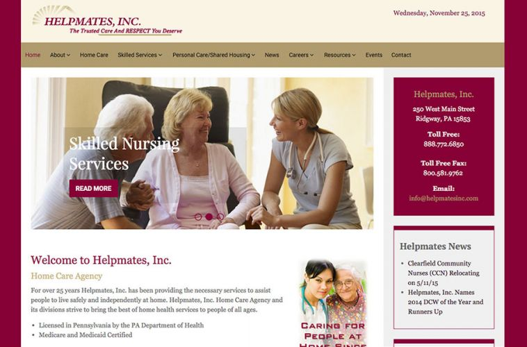 Helpmates-Website